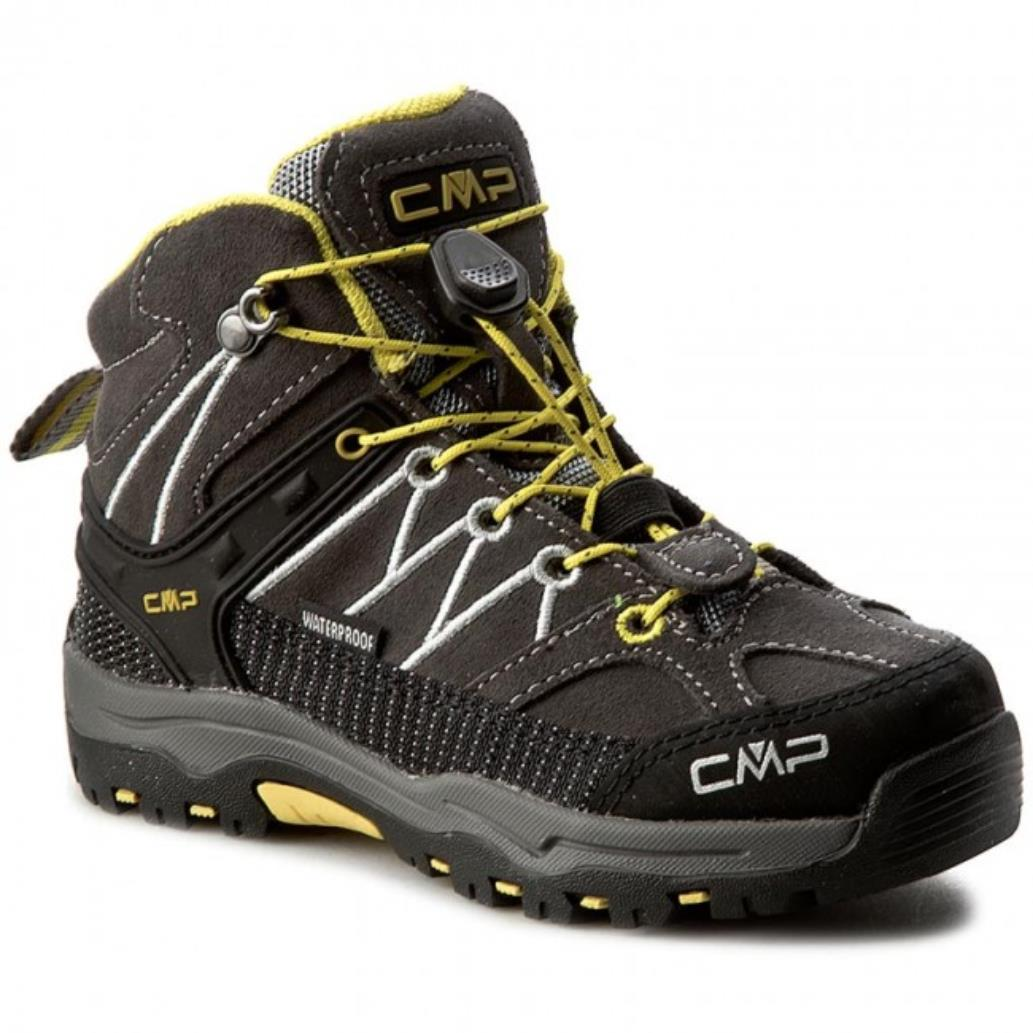 CMP Kids Rigel Mid Trekking Shoe WP Bambini Scarpe da Arrampicata Alta Unisex